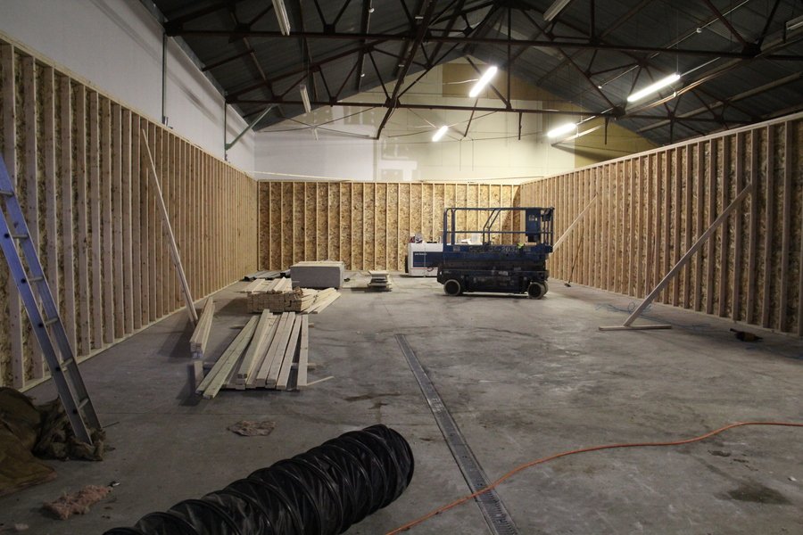 The range space is taking shape!